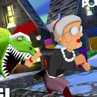 Angry Gran Run Halloween Village