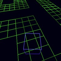 Cool Wireframe Maze: Episode 1