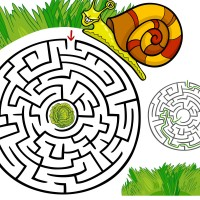 Maze Cartoon Labyrinth