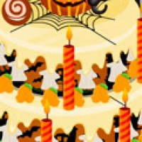 Spooky Cake Deco